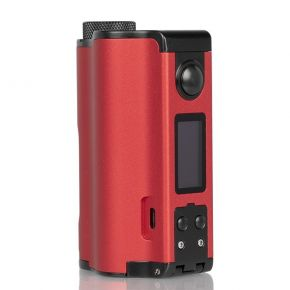 TOPSIDE DUAL 200W SQUONK MOD RED | DOVPO