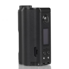 TOPSIDE DUAL 200W SQUONK MOD BLACK | DOVPO