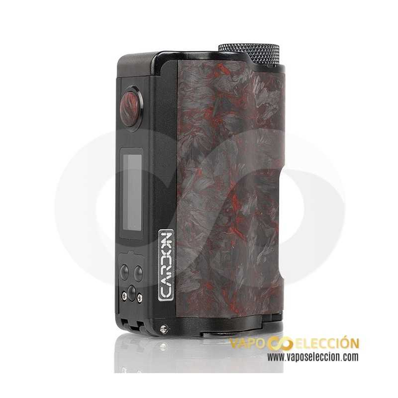 TOPSIDE DUAL YIHI CARBON EDITION SQUONK MOD RED | DOVPO