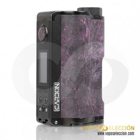 TOPSIDE DUAL YIHI CARBON EDITION SQUONK MOD MAGENTA |DOVPO