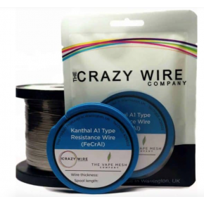 WIRE KANTHAL A1 FLAT RIBBON 0.4MM X 0.1MM 10M | CRAZY WIRE