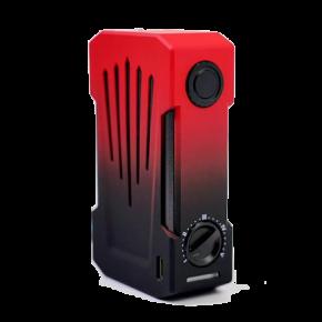TESLA INVADER 4X BOX MOD BLACK/RED | TESLACIGS
