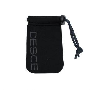POCKET MINI NEO SLEEVE BLACK DARK CHARCOAL | DESCE