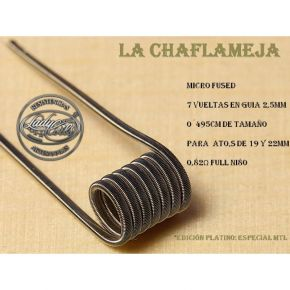 COILS CHAMAFLEJAS MICRO FUSED MTL 0.82OHM | LADY COILS