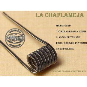 RESISTENCIAS CHAMAFLEJAS MICRO FUSED 0.82OHM 1UD |LADY COILS
