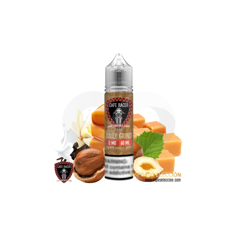 LIQUIDO DAILY GRIND 50ML | CAFE RACER