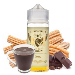 ELIQUID DON JUAN CHURRO 100ML | KINGS CREST | * NICOTINE FREE PRODUCT * |