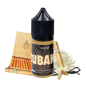 FLAVOUR CUBANO 30ML | VGOD | * NICOTINE FREE PRODUCT * |