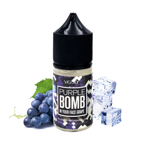 FLAVOUR PURPLE BOMB ICE 30ML | VGOD | * NICOTINE FREE PRODUCT * |