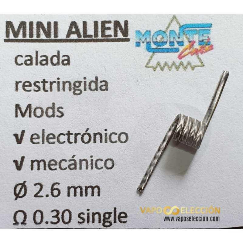 COIL MINI ALIEN 3MM 0.30OHM SINGLE 1UD | MONTECOIL