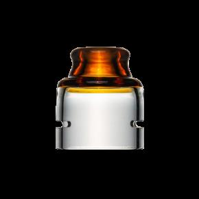 SPECTRUM CAP DOTRDA SINGLE 22MM AMBER | TRINITY GLASS