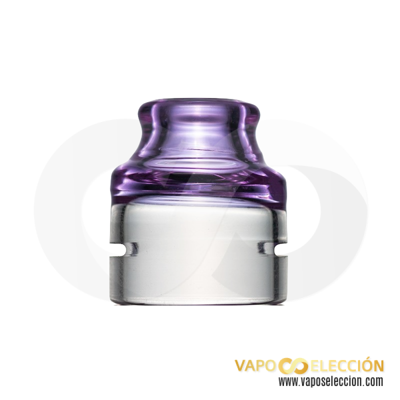 SPECTRUM CAP DOTRDA SINGLE 22MM VIOLET | TRINITY GLASS