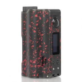 TOPSIDE DUAL 200W SQUONK MOD BLACK/RED | DOVPO | * NICOTINE FREE PRODUCT * |