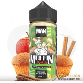 LIQUIDO MUFFIN MAN 100ML | ONE HIT WONDER |* PRODUCTO SIN NICOTINA *|
