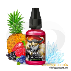 AROMA ULTIMATE RAGNAROK LEGEND GREEN EDITION 30ML | A&L |* NICOTINE-FREE PRODUCT *|