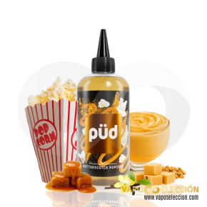 LIQUIDO PÜD BUTTERSCOTCH POPCORN 200ML | JOES JUICE |* PRODUCTO SIN NICOTINA *|