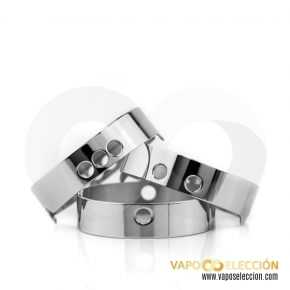 AN RDA AFC RING SET 3 UDS SILVER | COILTURD |* PRODUCTO SIN NICOTINA *|