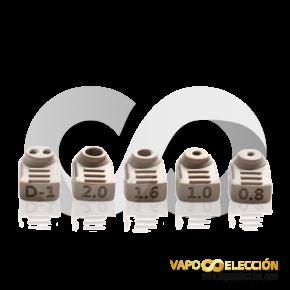 AIRFLOW TUBE KIT BERSERKER V2 MTL RTA 6PCS | VANDY VAPE |* PRODUCT WITHOUT NICOTINE *|