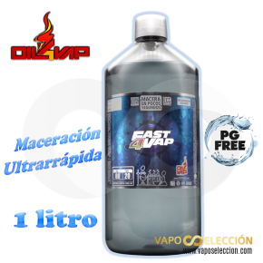 BASE ULTRARAPIDA FAST4VAP 30PDO/70VG 1000ML | OIL4VAP |* PRODUCT WITHOUT NICOTINE *|