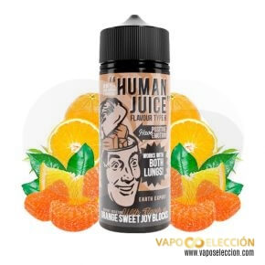 LIQUIDO HUMAN JUICE ORANGE SWEET 100ML | JOES JUICE |* PRODUCTO SIN NICOTINA *|