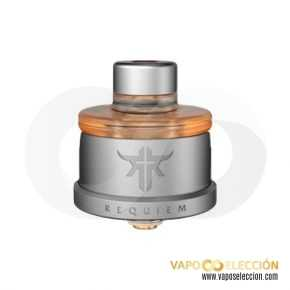 REQUIEM RDA FROSTED GREY | VANDY VAPE & EL MONO VAPEADOR |* PRODUCT WITHOUT NICOTINE *|