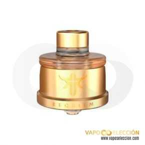 REQUIEM RDA GOLD | VANDY VAPE & EL MONO VAPEADOR |* PRODUCT WITHOUT NICOTINE *|