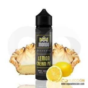ELIQUID LEMON CREAM PIE 50ML | MONDO ELIQUIDS |* PRODUCT WITHOUT NICOTINE *|