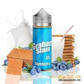 ELIQUID GRAHAM SLAM BLUEBERRY 100ML | THE MAMASAN |* PRODUCT WITHOUT NICOTINE *|