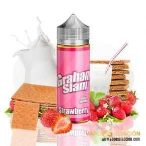 ELIQUID GRAHAM SLAM STRAWBERRY 100ML | THE MAMASAN |* PRODUCT WITHOUT NICOTINE *|