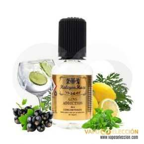 FLAVOUR GINS ADDICTION 30ML   HALCYON HAZE  * PRODUCT WITHOUT NICOTINE * 
