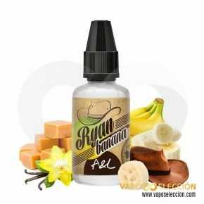 FLAVOUR RYAN BANANA 30ML | A&L |* PRODUCT WITHOUT NICOTINE *|