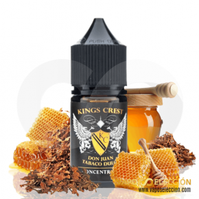 FLAVOUR DON JUAN TABACO DULCE 30ML | KINGS CREST | * NICOTINE FREE PRODUCT * |