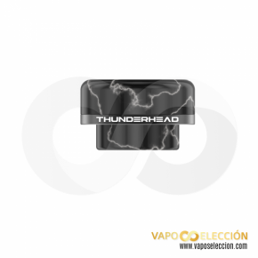 DRIP-TIP ARTEMIS 810 BLACK | THUNDERHEAD CREATIONS |* PRODUCT WITHOUT NICOTINE *|