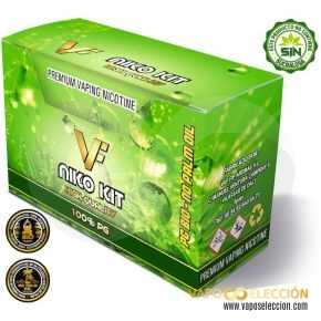 PACK NICOKITS 100%PG 20MG 10PCS | VAPFIP