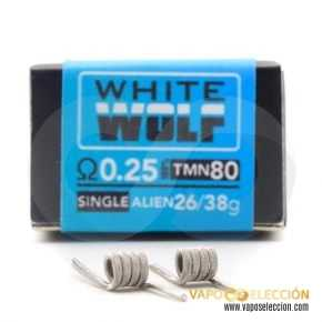 RESISTORS THE FORGE WHITE WOLF 0.25 SINGLE PACK 2PCS | CHARRO COILS