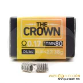 RESISTORS THE FORGE THE CROWN 0.17 DUAL PACK 2PCS | CHARRO COILS