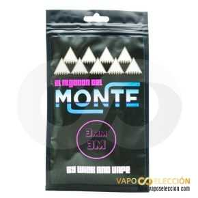 THE COTTON OF THE 3MM FORMAT MOUNT | MONTE COILS