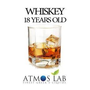 E-liquido Atmoslab Whiskey 18 years old 10ml