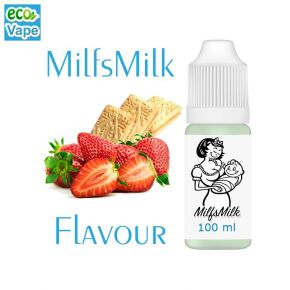 ECOVAPE MILFSMILK MILKSHAKE ELIQUID 100ML