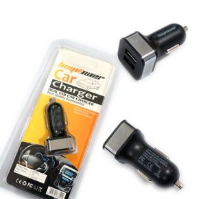 HEYPOWER DUAL USB CHARGER 2000MAH