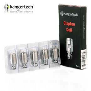 KANGERTECH CLAPTON COIL PACK 5 UDS.