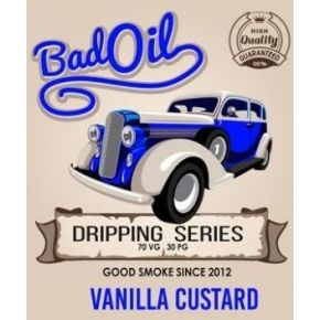 BAD OIL VANILLA CUSTARD ELIQUID 30ML