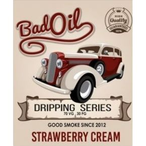 GOOD SMOKE BAD OIL STRAWBERRY CREAM ELIQUID 30ML