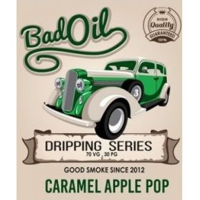 GOOD SMOKE BAD OIL CARAMEL APPLE POP ELIQUID 30ML