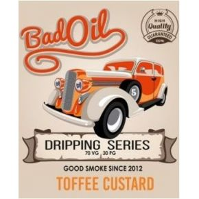 GOOD SMOKE BAD OIL TOFFEE CUSTARD ELIQUID 30ML
