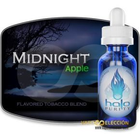 HALO MIDNIGHT APPLE ELIQUID 30ML