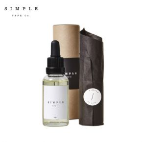 SIMPLE VAPE 50/50 COLLECTION FIVE STRAWBERRIES & CREAM ELIQUID 30ML