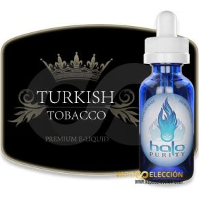 HALO TURKISH TOBACCO ELIQUID 30ML
