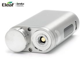 ELEAF ISTICK PICO TC 75W BRUSHED SILVER/FULL BLACK BOX MOD