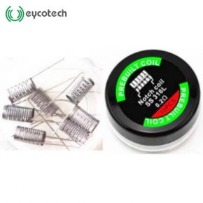 EYCOTECH NOTCH COIL SS316 PRE BUILT